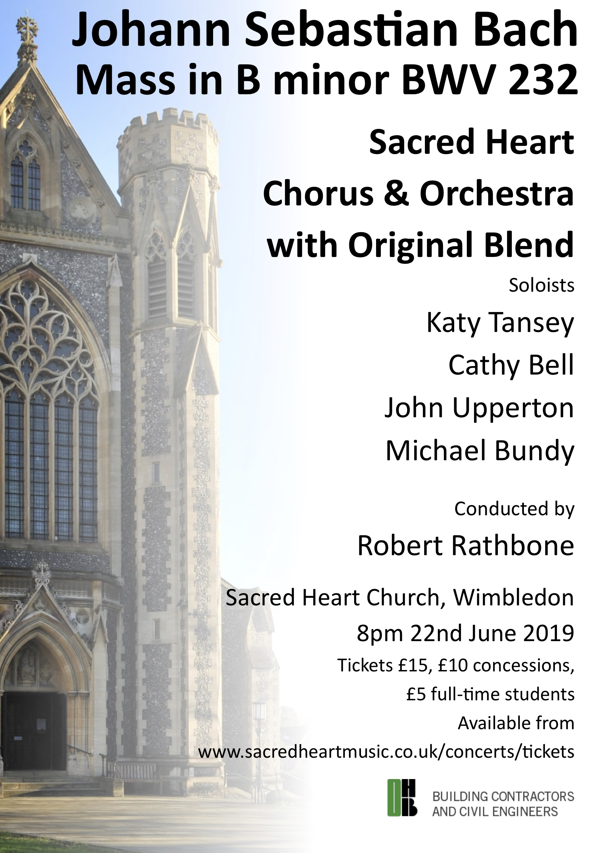 Sacred Heart Music | Music at the Sacred Heart Church, Wimbledon